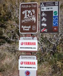Trail Development, Restoration, Maintenance, Signage and Maps